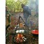 cooking fire at Both Coed, Allt Goch, Llanidloes